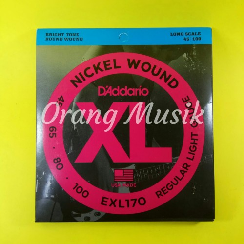 Foto Produk Senar Bass D Addario EXL170 4 String dari Orang Musik