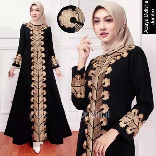Foto Produk gamis abaya bordir dubai plus pasmina dari GrosirAbaya