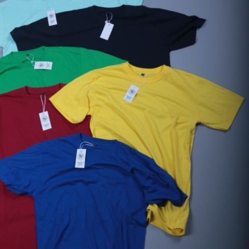 Foto Produk Kaos Polos Distro Baju Pria Cotton Combed 30s Premium Asli dari AlgisBandung