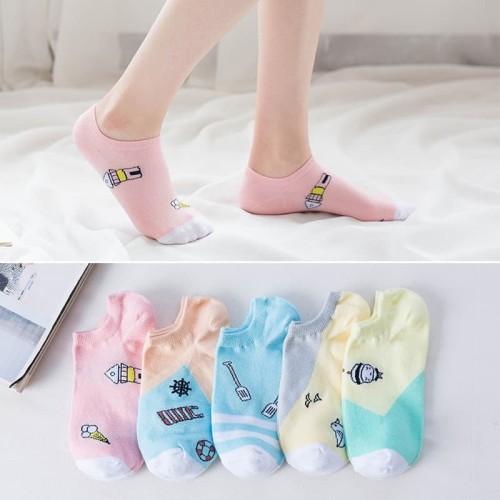 Foto Produk KK28 Kaos Kaki Pendek Wanita Japanese Life in Tokyo Women Ankle Socks dari EnnWen Online Store