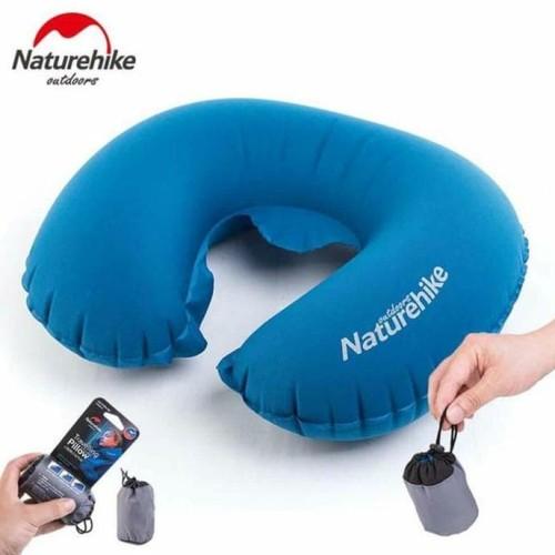 Foto Produk Bantal Leher Inflatable Naturehike Neck Travell Pillow Praktis dari Winda Irawan shop