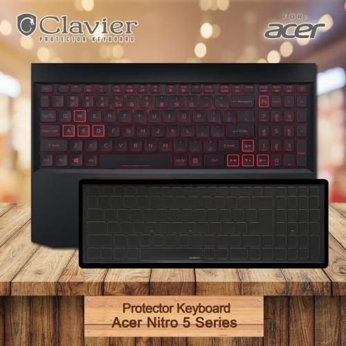 Foto Produk Keyboard Protector Cover Acer Nitro 5 AN515-54-77YU 77KV 773E Cooskin dari Clavier