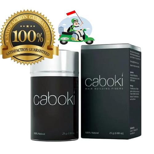 Foto Produk CABOKI Hair Fiber 25g ORIGINAL 100%! - BLACK, 1 PCS dari cabokistore.ID