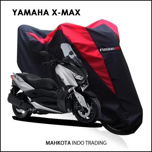Foto Produk Sarung Motor Yamaha XMAX / Cover Motor X-MAX Waterproof merk FUSION R dari Mahkota Indo Trading