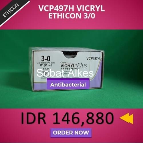 Foto Produk VICRYL Plus Antibacterial 3/0 dari Sobat Alkes