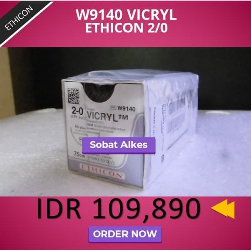 Foto Produk VICRYL Ethicon 2/0 dari Sobat Alkes
