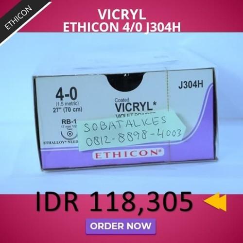 Foto Produk VICRYL Ethicon 4/0 dari Sobat Alkes