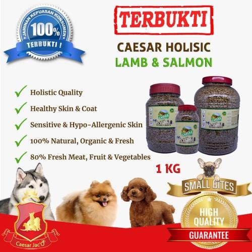 Foto Produk Makanan Anjing / Dog Food Caesar Natural Holistic 1kg Small Bite dari Caesar Jac'O