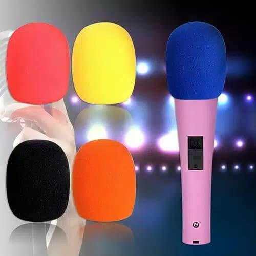 Foto Produk Busa pelindung mic Sarung mikrofon Busa penutup mic tebal dari Kreisler Shop