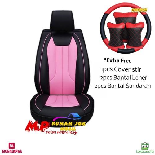 Foto Produk Sarung Jok Mobil APN Leather Ayla Brio Yaris Jazz Baleno Etios HRV dll dari MP Seat Cover Mobil (MP Rumah Jok)