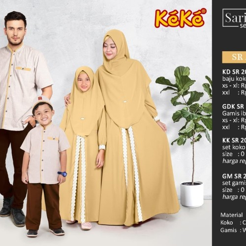 Foto Produk Sarimbit keluarga keke 2020 dari Butik Naila
