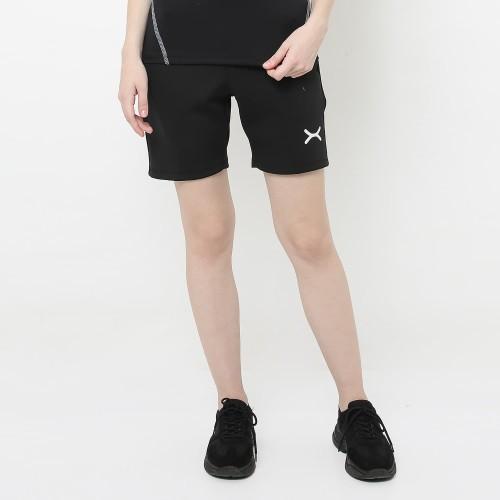 Foto Produk FLEXZONE Celana Pendek Wanita - Black - Gym Running Jogging FCS-501HT - L dari FLEXZONE