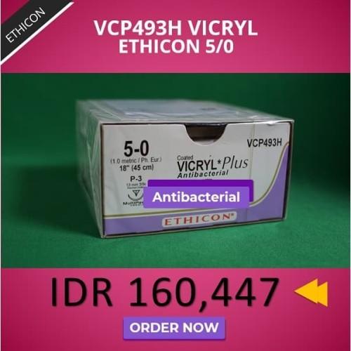 Foto Produk VICRYL Plus Antibacterial 5/0 dari Sobat Alkes