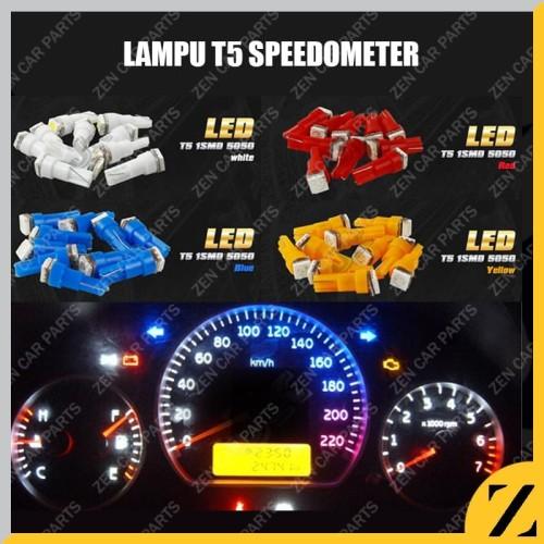 Foto Produk Lampu LED T5 Speedometer COB Speed Panel Mobil Motor Dashboard TERANG - Kuning dari Zen Car Parts