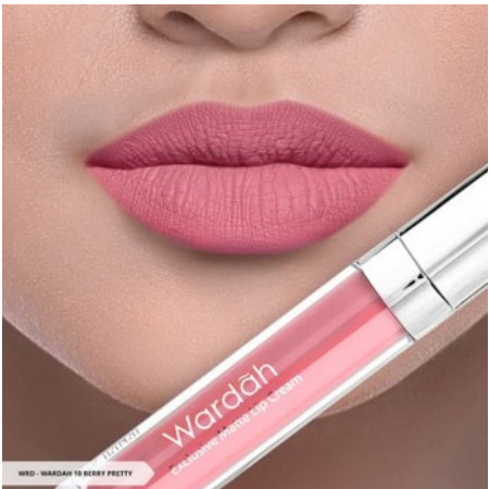 Foto Produk Wardah Exclusive Matte Lip Cream - Berry Pretty dari Lotta_Look