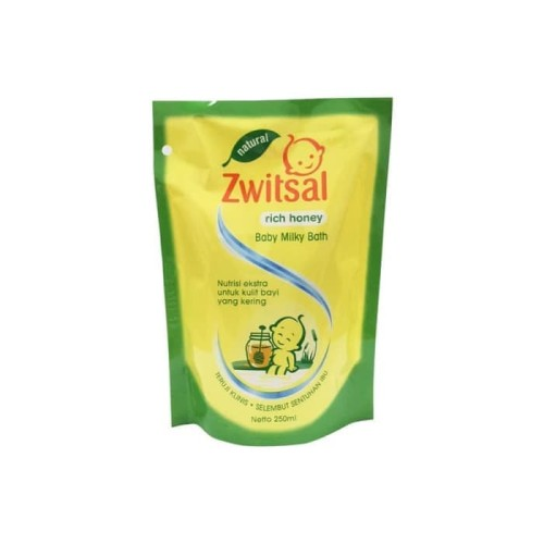 Foto Produk ZWITSAL BB BATH N RICH HONEY PCH 250ML dari LotteMart Indonesia