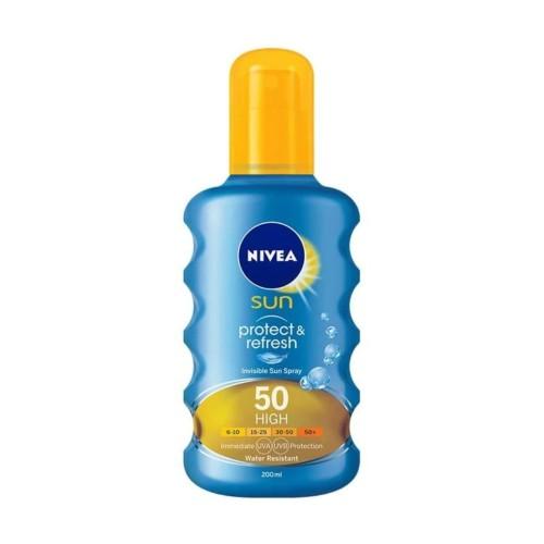Foto Produk Nivea Sun Invisible Protection Transparent Spray SPF 50 [200 mL] Fitu dari evi rahayu