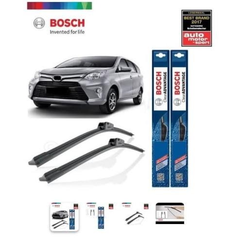 Foto Produk Wiper Mobil Frameless Toyota Calya Sepasang Bosch Clear Advantage dari Prime Auto Variasi