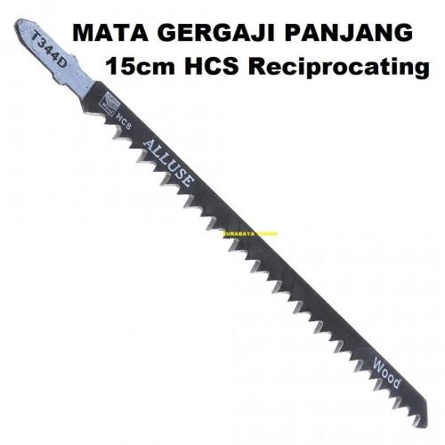 Foto Produk ST MATA GERGAJI PANJANG 15cm T344D HCS JIGSAW BLADE RECIPROCATING dari SURABAYA-TEKNIK