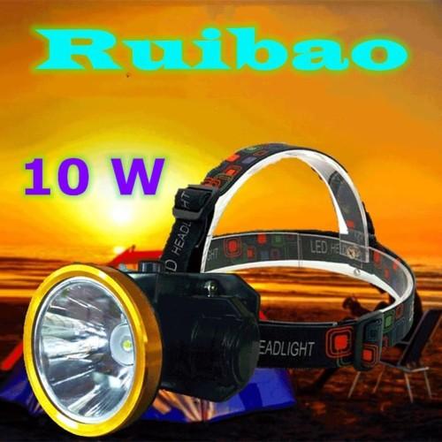 Foto Produk Senter Kepala Headlamp Super LED 10W / Anti Air dari RUIBAO