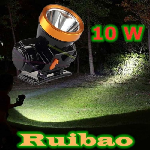 Foto Produk Senter Kepala Headlamp Super LED 10 W / Anti Air 10 W dari RUIBAO