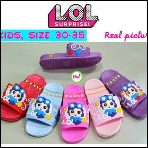 Foto Produk (size 30-35) sandal karet LOL dari tito perdana