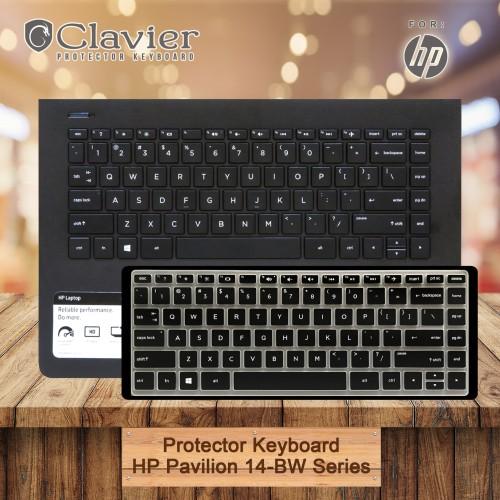 Foto Produk Keyboard Protector Cover HP 14-BW086 BW087 BW088 BW089 BW090 BW091 War dari Clavier