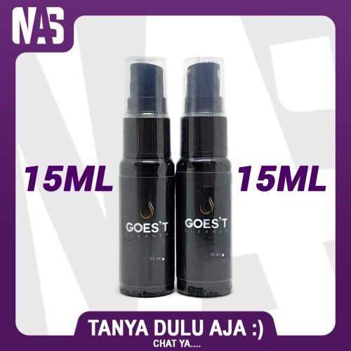 Foto Produk GOEST Spray Cleaner 60ml Pembersih 15ml dari NAS VIRTUAL