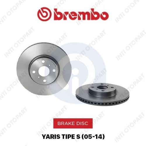 Foto Produk Brake disc Rotor Yaris Tipe S Brembo 09A53511 Original depan dari NEW INTI OTOPART BANDUNG