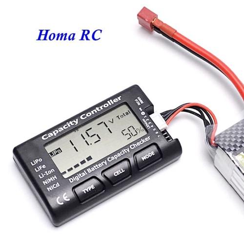 Foto Produk Baterai Kapasitas Volt Checker dari Homa RC