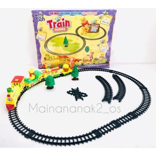 Foto Produk PROMO MAINAN ANAK!!! MAINAN KERETA API MURAH Train Series ANAK dari Mainananak2_os