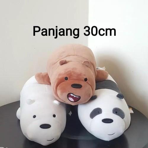Foto Produk Laying Edition - Kado Mainan Anak Boneka We Bare Bears Laying Edition dari OyaOna Shop