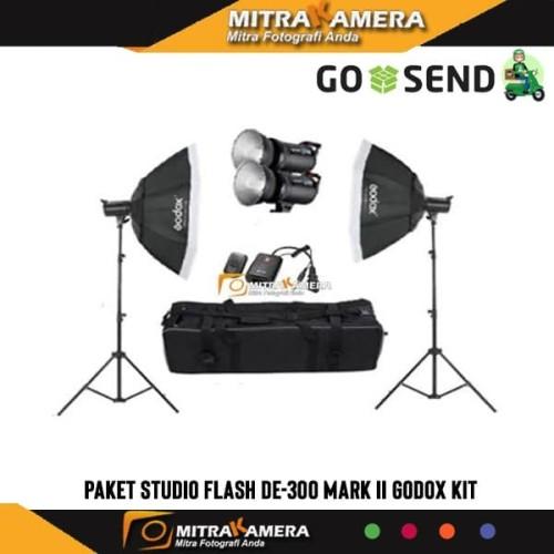 Foto Produk Paket Studio Flash DE-300 GODOX KIT dari mitrakamera