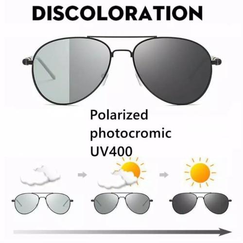 Foto Produk Kacamata Polarized ultraviolet Lensa Polarized untuk Pria Wanita UV400 - Tanpa minus dari chobuy