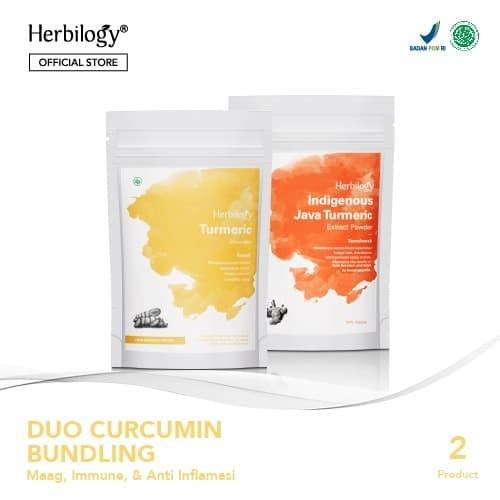 Foto Produk Herbilogy Duo Curcumin Bundling dari Herbilogy