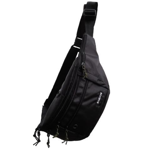 Foto Produk Harloth Zest Black Tas Selempang Waist Bag Pria Sling Bag Slingbag dari JS Store Indonesia