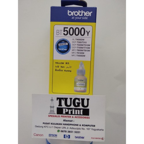 Foto Produk TINTA BROTHER BT5000 YELLOW dari TuguPrint