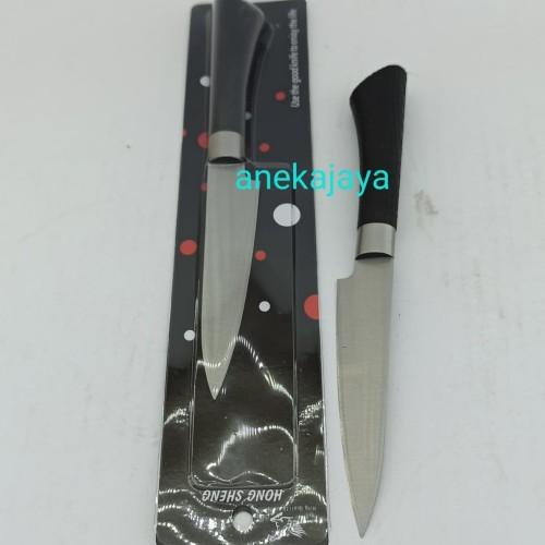 Foto Produk Pisau dapur gagang hitam 24 cm. dari anekajaya078