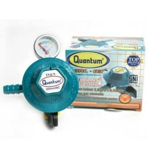 Foto Produk Regulator Kompor Gas + meter Quantum QRL 03 dari Digital Shop Solution