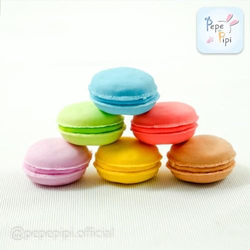 Foto Produk Penghapus Macaron Eraser Karakter Macaroon Macarons CakeKue Murah Lucu dari Pepepipi