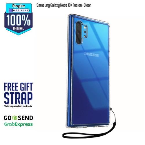 Foto Produk Original Rearth Ringke Galaxy Note 10 plus 10+ Fusion - Clear dari Official Ringke Partner