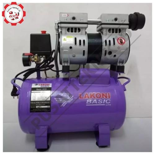 Foto Produk BASIC 25S LAKONI Oilless Compressor Kompresor 3 4HP 24L Bergaransi dari Pusatteknik
