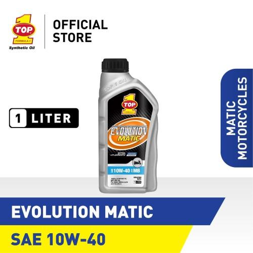 Foto Produk Oli Motor Matik TOP 1 EVOLUTION MATIC 10W-40 | 1 Liter dari TOP1 Store