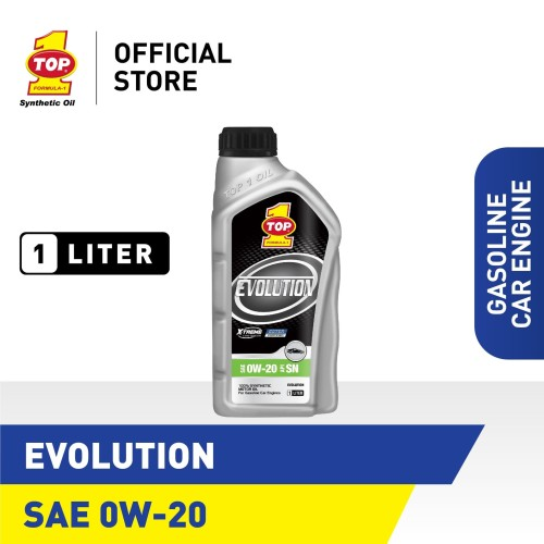 Foto Produk Oli Mobil TOP 1 SMO EVOLUTION SAE 0W-20 | 1 Liter dari TOP1 Store