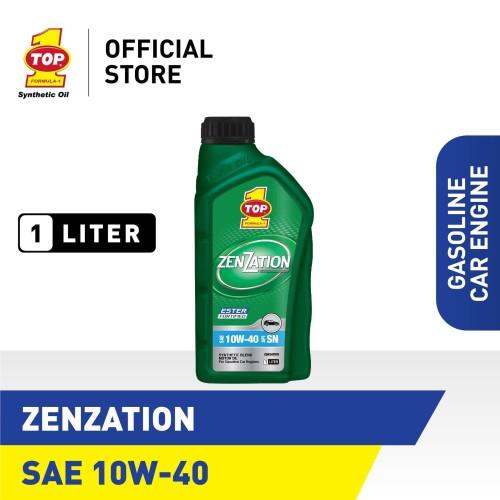 Foto Produk Oli Mobil TOP 1 ZENZATION SAE 10W-40 | 1 Liter dari TOP1 Store