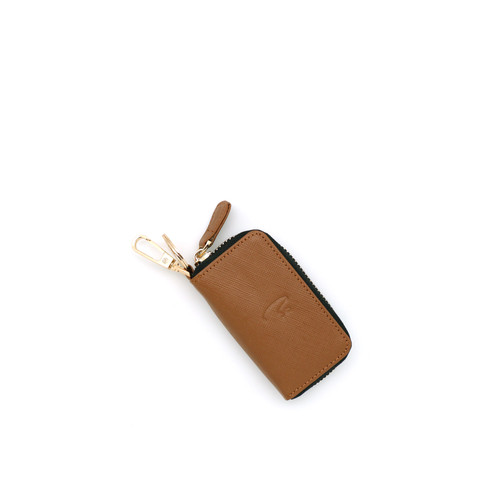 Foto Produk VERMONT V83 - G008 Luxury Tan Genuine Leather Keyless Car Key-Holder dari VERMONT LEATHER
