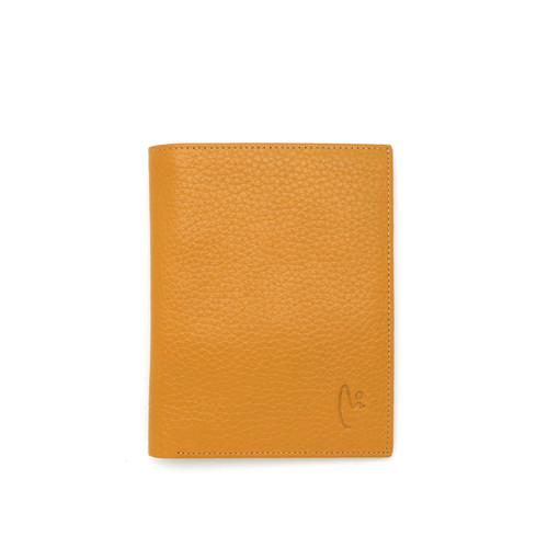 Foto Produk VERMONT V83 - E001 Classic Mustard Medium Genuine Leather Wallet dari VERMONT LEATHER