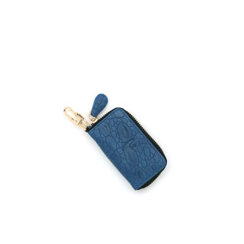 Foto Produk VERMONT V83 - G008 Blue Croco Genuine Leather Keyless Car Key-Holder dari VERMONT LEATHER
