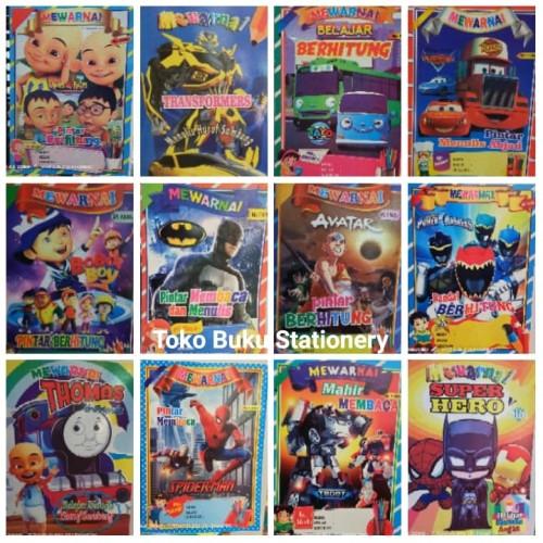 Foto Produk BUKU MEWARNAI / KERTAS HVS / UKURAN BESAR - Cewek dari Toko Buku dan Stationery