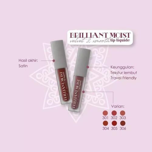 Foto Produk ⭐ VIP ⭐ MADAME GIE Brilliant Moist Velvet & Smooth Lip Liquide - 302 Venus dari VIP Beauty House